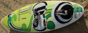 Type de planche de surf pin