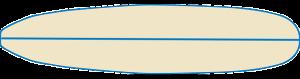 type de planche de surf round