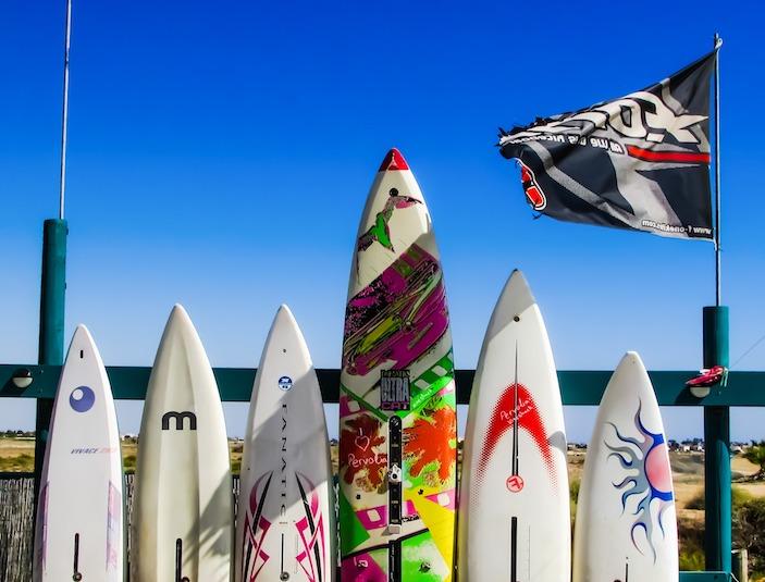 Différents types de planches de surf