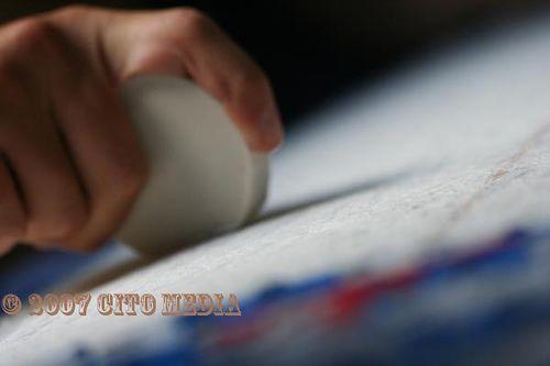 Pain de wax pour planche de surf