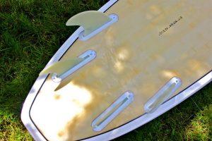 Quatre ailerons de surf