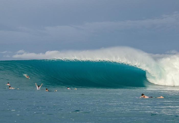image spot de surf Lance's Right en Indonésie