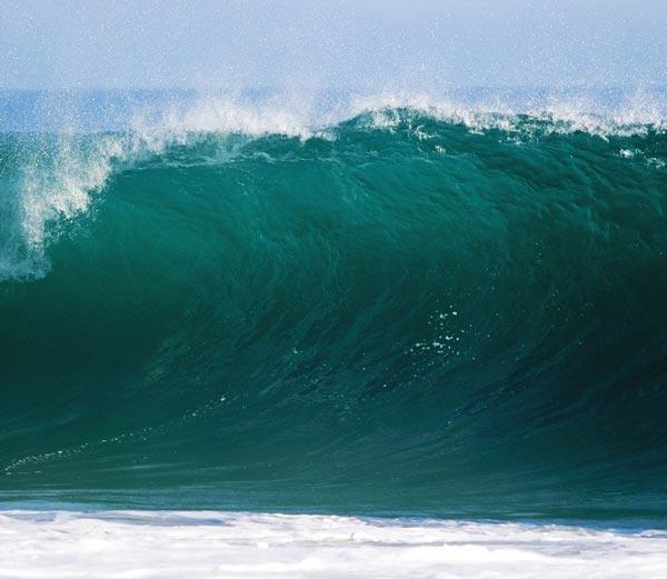image du tube de la vague