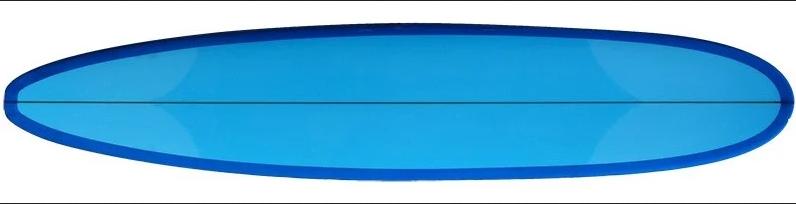 photo d'une planche de surf type longboard
