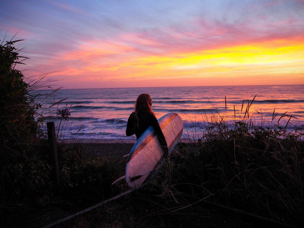 développement du surf féminin